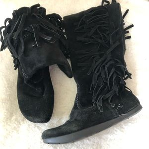 Earth Suede Boots Sz 8